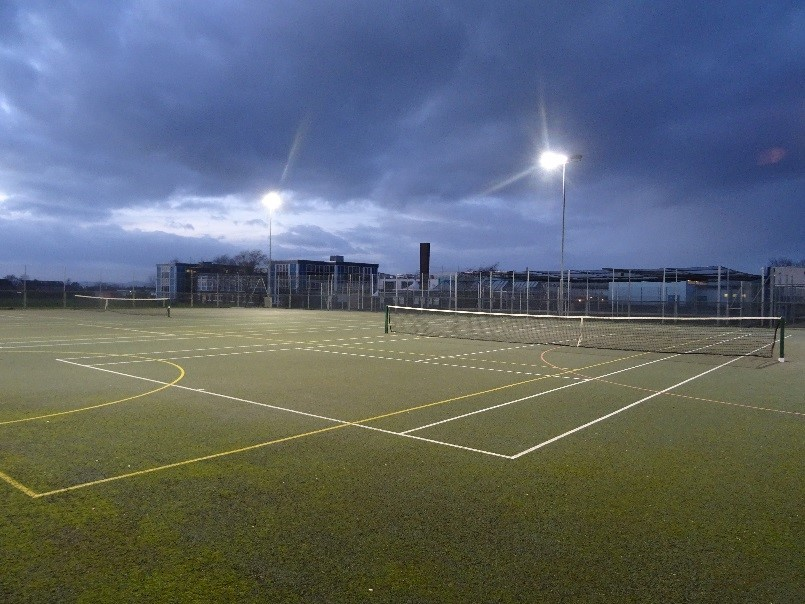 Floodlit Courts